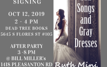published author ruth mini sad songs and gray dresses